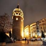 برج غالاتا القديم في اسطنبول