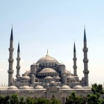 المساجد الكبيرة في تركيا جامع السلطان احمد