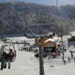 الثلوج في تركيا رحلة تزلج الى منطقة kartepe
