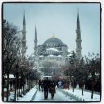 الثلوج في تركيا اسطنبول 2016