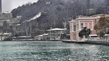 الثلوج في تركيا 2016